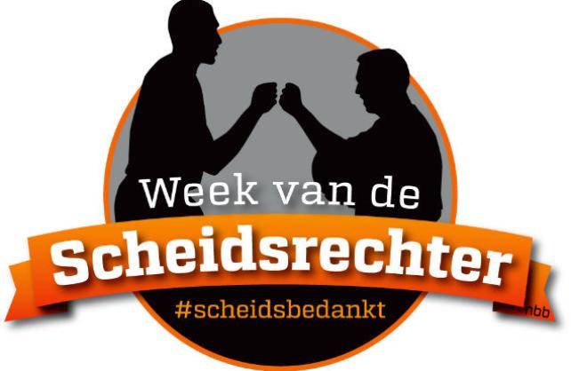 Week van de Scheidsrechter 3-11 oktober!