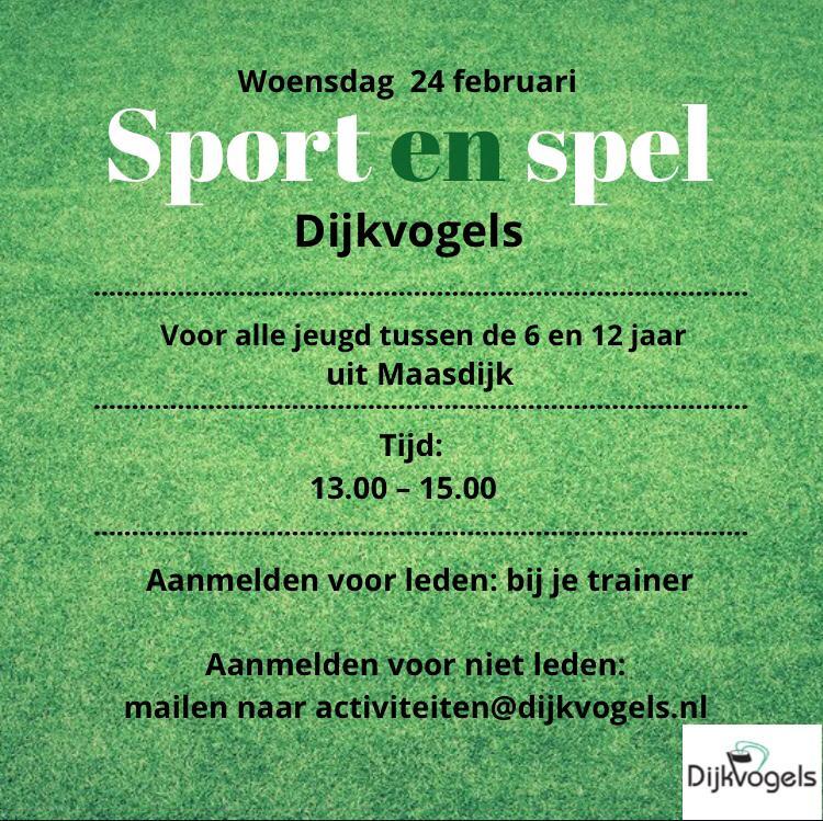 Sport en spel bij CKV Dijkvogels