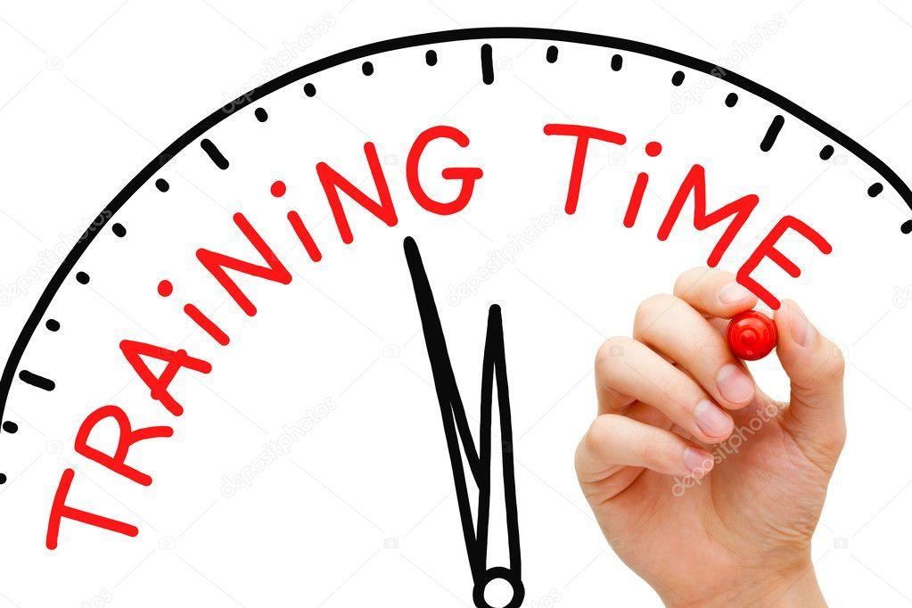 Trainingstijden 1ste helft Veld 2021-2022