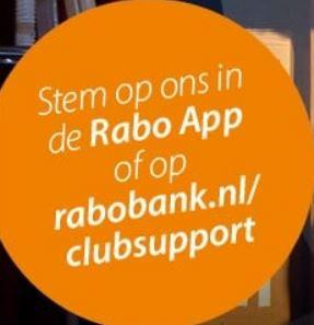 Rabo ClubSupport van 4 t/m 25 oktober 2021
